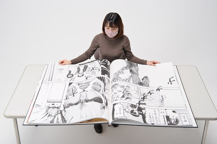 Super-Size Attack on Titan Manga Volume is Big Enough for a Titan