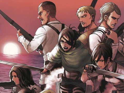 Final Attack on Titan Manga Volume to Include Original Drafts