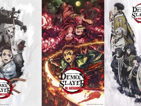 Three Demon Slayer TV Specials Debut on Funimation Ahead of Movie