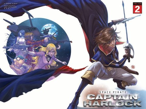 SPACE PIRATE CAPTAIN HARLOCK Issue #2 Gets 5 Variant Covers