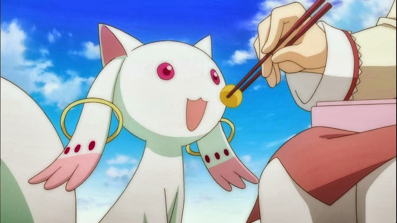 Kyubey who is quite innocent