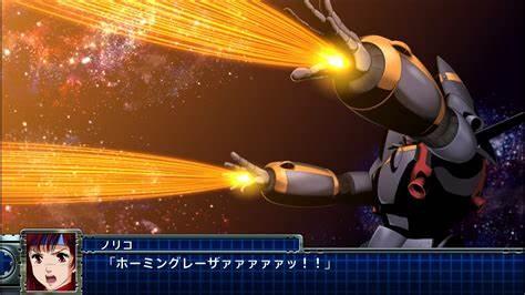 Gunbuster in Super Robot Wars