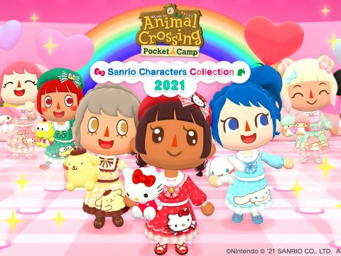 Animal Crossing: Pocket Camp Releases New Sanrio Collection Today