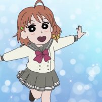 Love Live! Sunshine!! Reveals Unlikely Collab with Crayon Shin-chan