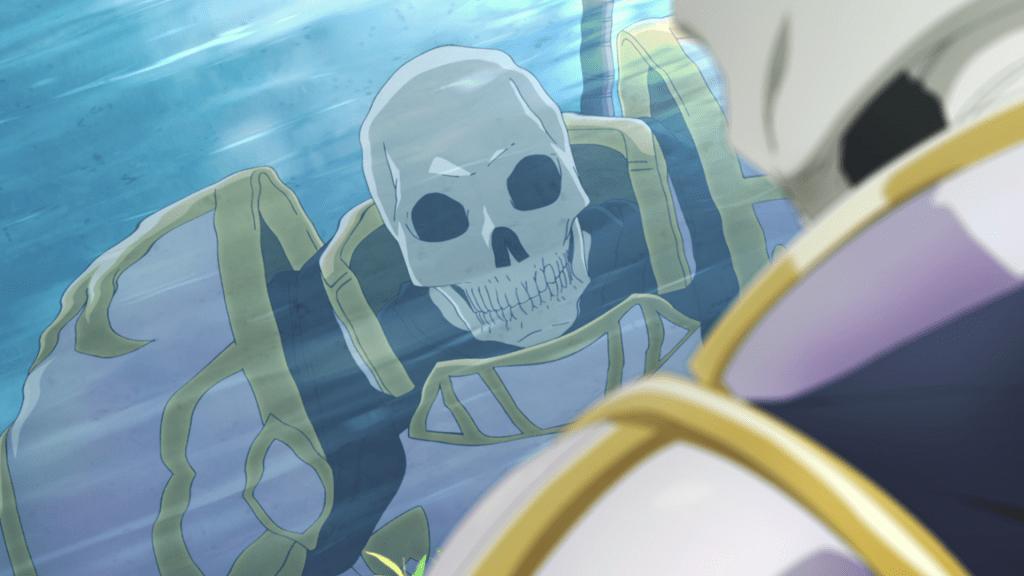 Skeleton in Another World Light Novels Inspire TV Anime