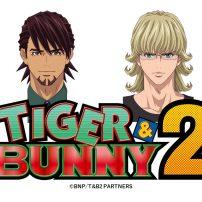 Tiger & Bunny Anime Shares 10th Anniversary Visuals Ahead of Season 2