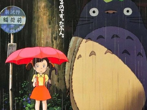 Girl on Famous Totoro Poster Isn't Actually in The Movie
