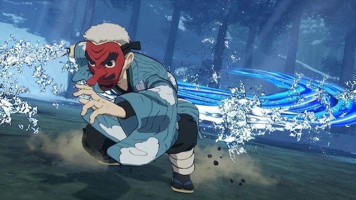 Play As Sakonji Urokodaki in Upcoming Demon Slayer Game