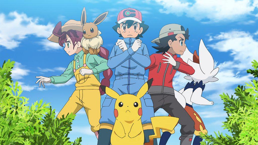 Pokémon Anime Continues on Netflix with Pokémon Master Journeys