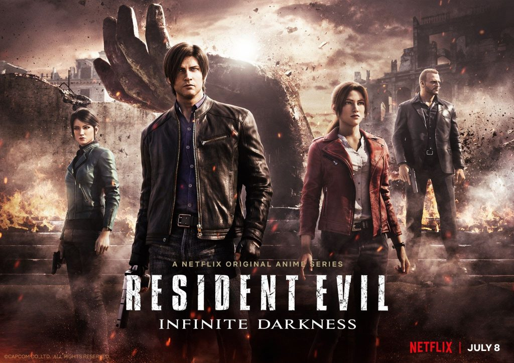 Netflix's RESIDENT EVIL: Infinite Darkness CG Series Premieres July 8
