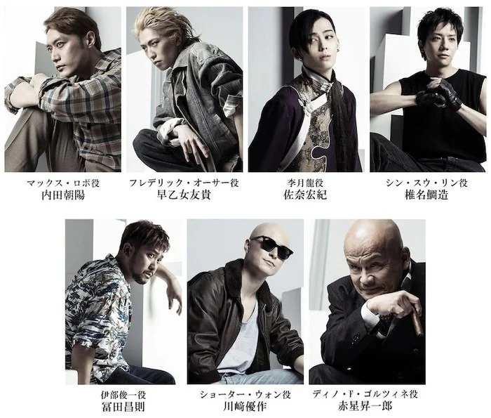 Banana Fish Play Shares Visual of Cast Members as Characters