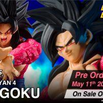 Super Saiyan 4 Goku Joins Figuarts ZERO Line This October