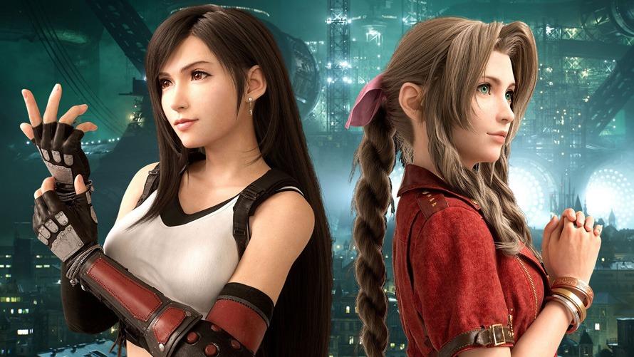 Final Fantasy VII Remake Aeith and Tifa