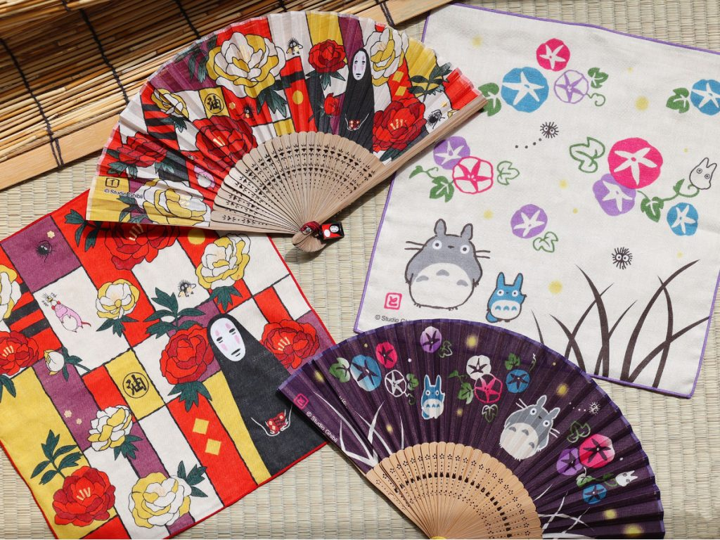 Ghibli Releases Traditional Folding Fans in Time for Summer