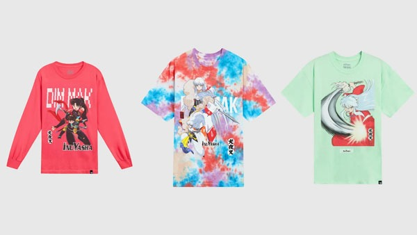 Steve Aoki and VIZ Come Out With Dim Mak x Inuyasha Collection