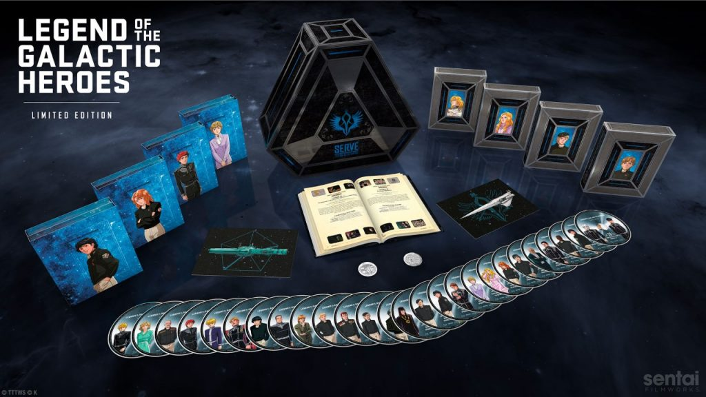 Sentai Filmworks Finally Sells Out of $800 Legend of the Galactic Heroes Set