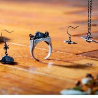 Nausicaä and Ohmu Get Their Own Brass Jewelry
