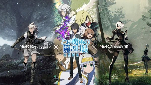 A Certain Magical Index: Imaginary Fest Collaborating with NieR Series