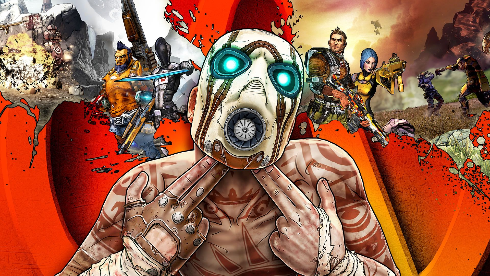 The Borderlands are full of anime voices!