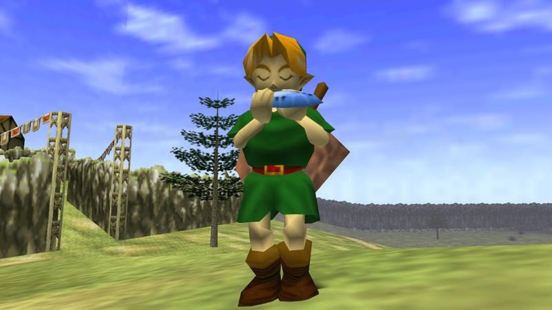 Link, Legend of Zelda: Ocarina of Time