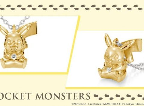 Pikachu Shocks Wallets with $200 Silver Necklace