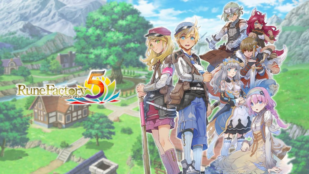 Rune Factory 5 Offers 5-Minute Tour with English Subtitles