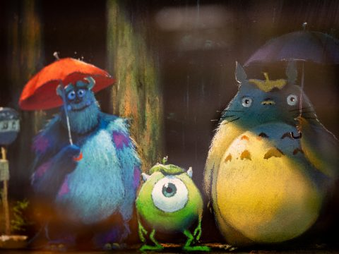 Ghibli Shares My Neighbor Totoro x Pixar Crossover Art on Official Twitter