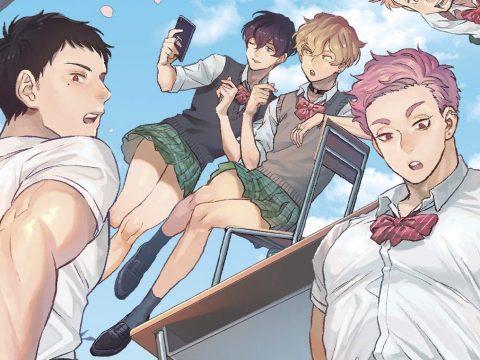 Thigh High: Reiwa Hanamaru Academy Is a Funny Gag Manga