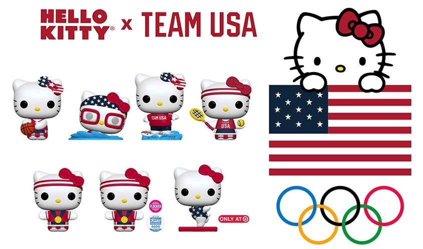 Olympic Medalist Allyson Felix Joins Sanrio For Team USA Collaboration