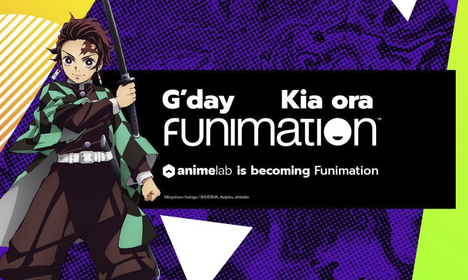 AnimeLab of Australia and New Zealand Being Rebranded as Funimation