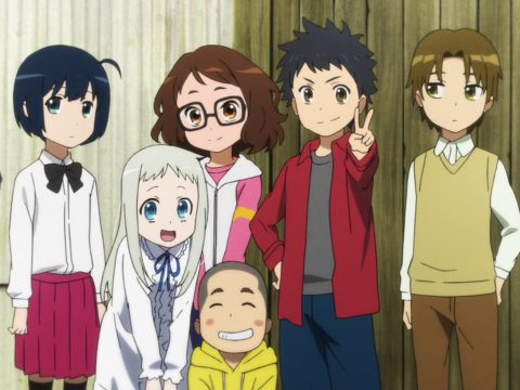 Anohana Anime Film Returns to Screens in 10th Anniversary Event