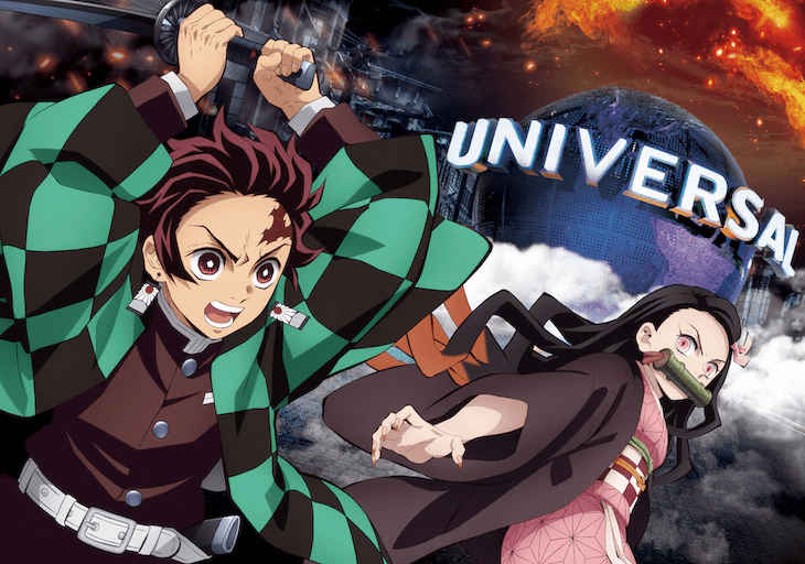 Interactive Demon Slayer Attraction on the Way to Universal Studios Japan
