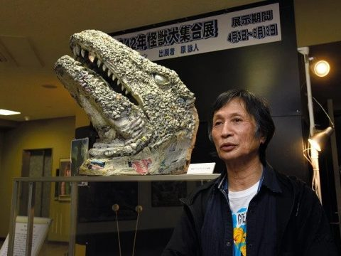 Sculptor Makes Kaiju Out of Newspaper, Gets Museum Exhibit