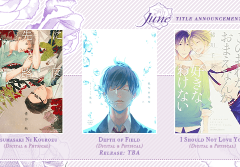 Juné Finishes June by Announcing Three More BL Manga Licenses