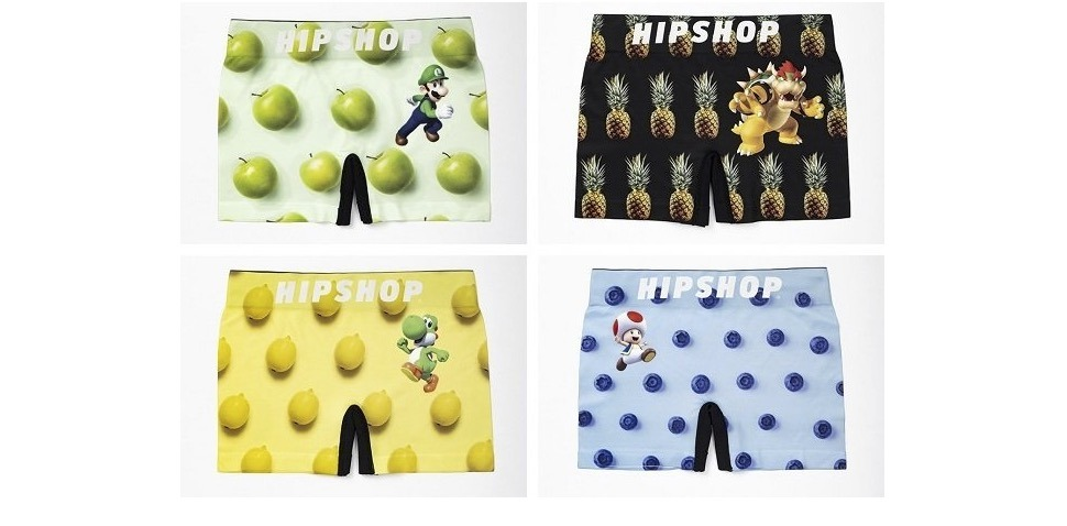 Get Your Mario Yukata, Boxer Briefs, Ties and More in New Collection