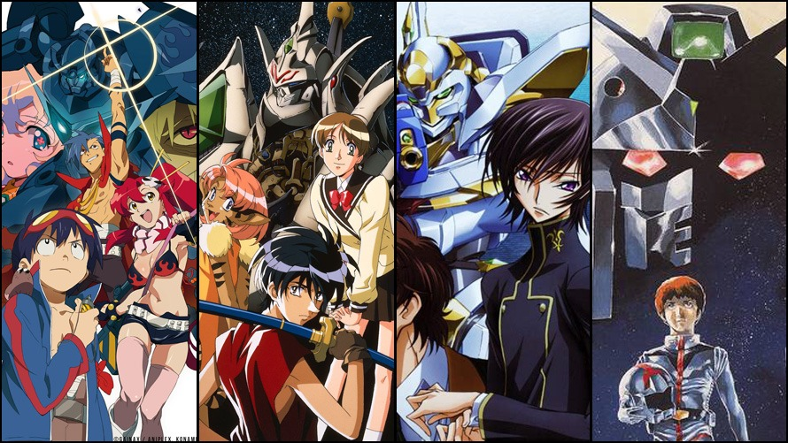 What's the Best Mecha Anime? Place Your Vote!