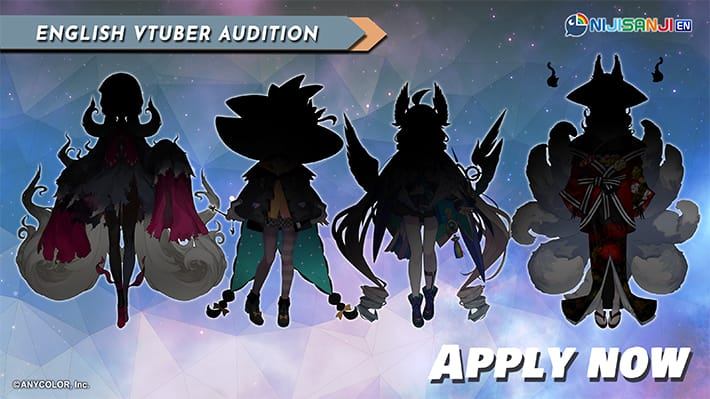There Are Open Auditions for the Nijisanji EN VTuber Project