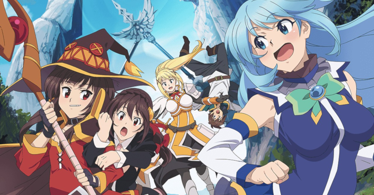 You too can make madness happen in the world of KONOSUBA!