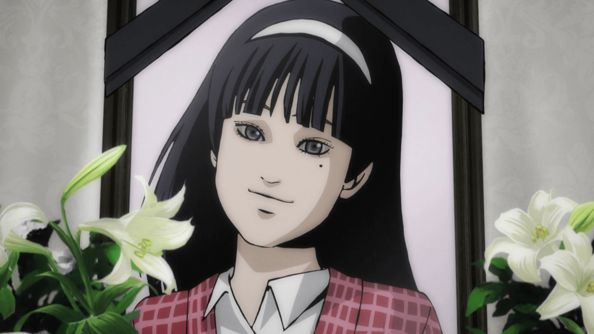 Tomie in anime form