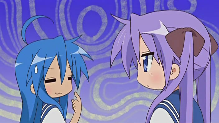 Kona and Kagami talk about things