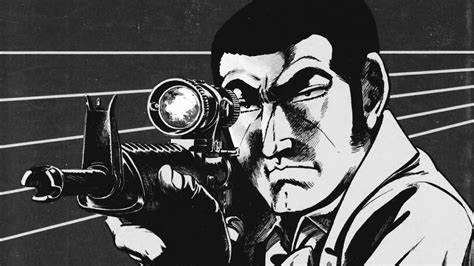 The Golgo 13 manga