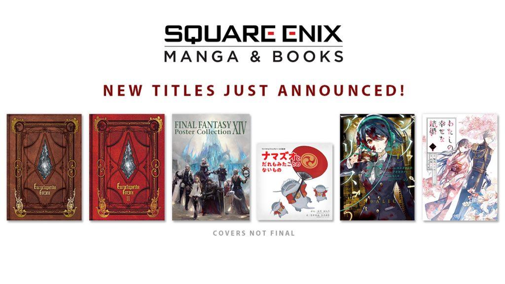 Square Enix Manga and Books Reveals Upcoming Manga, FF XIV Books