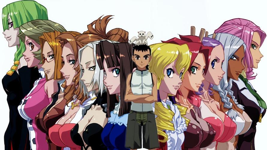 The Top 20 Best Harem Anime, Ranked by Otaku USA Readers