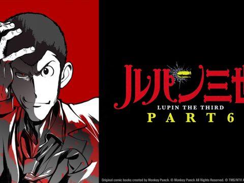 Sentai Filmworks Licenses LUPIN THE THIRD PART 6 Anime