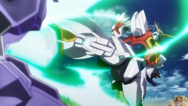 Gundam action