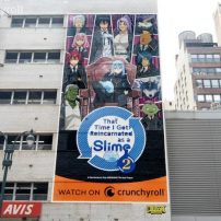 NYC Has a Mega That Time I Got Reincarnated as a Slime Ad