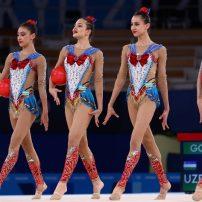 Uzbekistan Rhythmic Gymnastics Team Performed as Sailor Moon