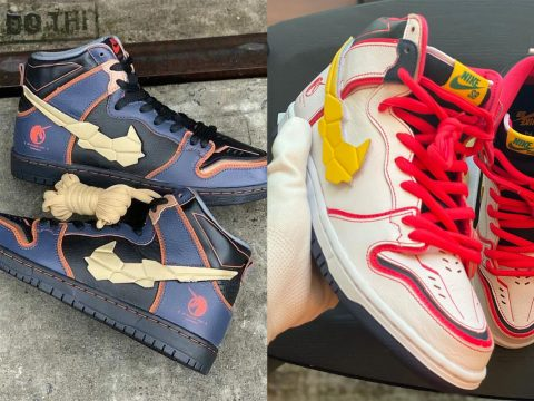 Nike Releases Two Special Gundam Unicorn Sneakers
