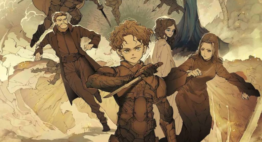 THE PROMISED NEVERLAND Artist Whips Up Awesome Dune Poster