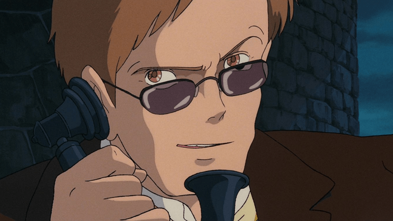 Colonel Muska from Castle in the Sky